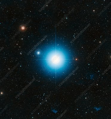 Fomalhaut star, optical image