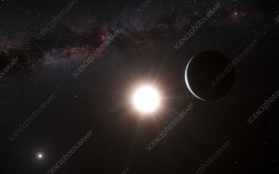 Alpha Centauri B, illustration