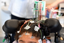 Electroencephalography test in cerebral palsy