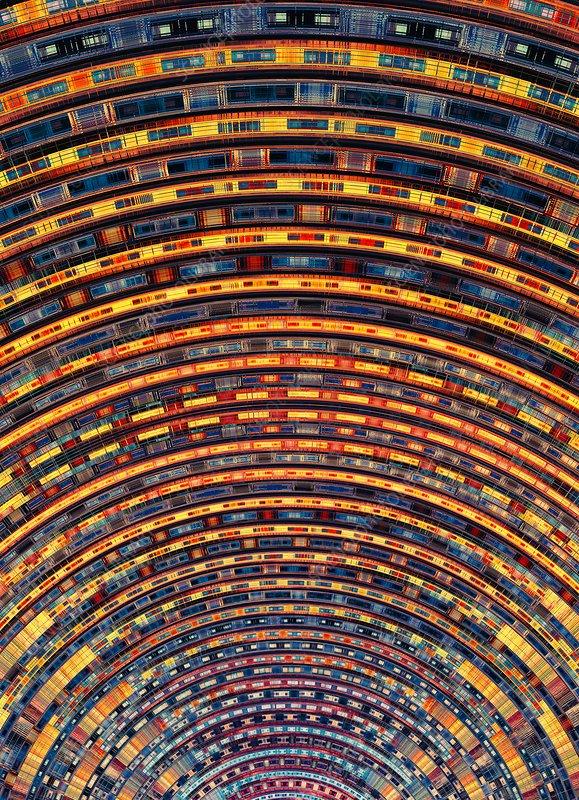 Quantum computer circuitry - Stock Image C038/1605 - Science Photo ...