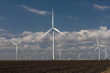 Papalote Creek Wind Farm, Texas, USA