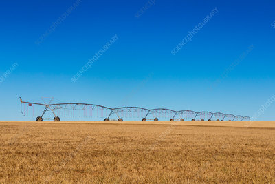 Farm irrigation system, USA