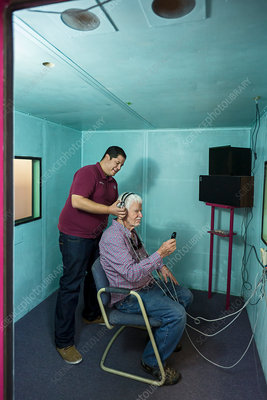 Hearing test, Mexico