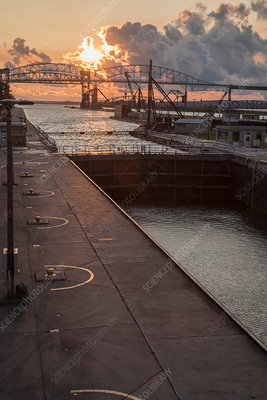 Soo Locks, Michigan, USA