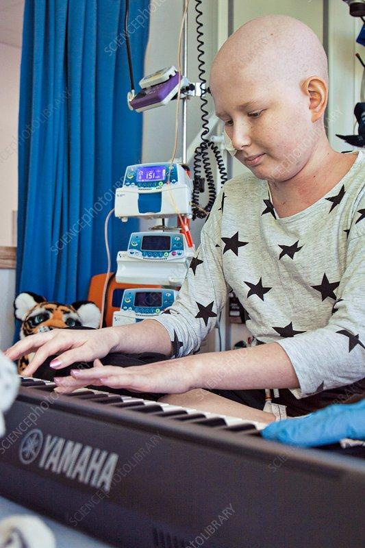 Paediatric cancer ward