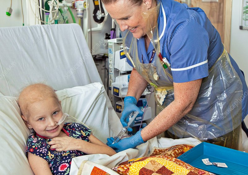 Paediatric cancer ward