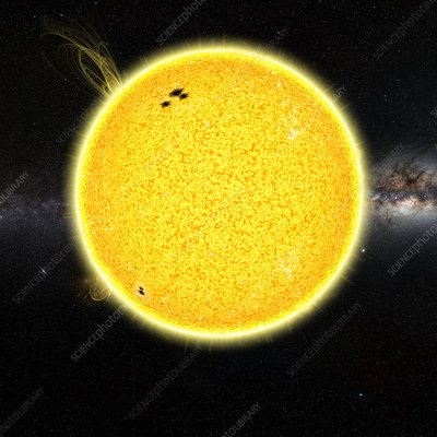 The Sun, illustration