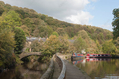 Hebden Bridge, Yorkshire, UK