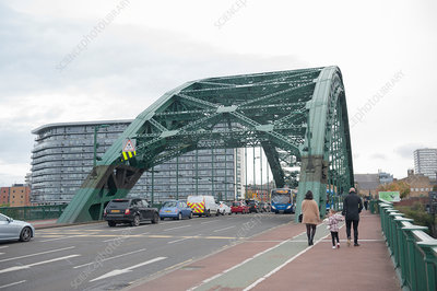 Wearmouth Bridge, Sunderland, UK
