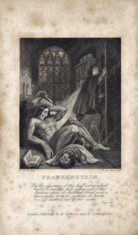 Mary Shelleys Frankenstein 1831 Edition