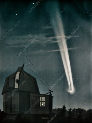 Great Comet of 1881, 19th-century illustration