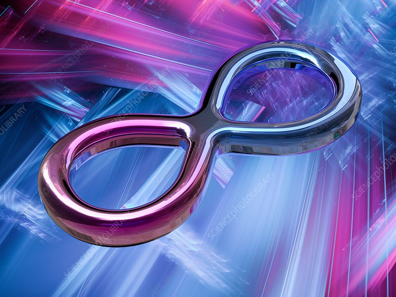 Infinity symbol, illustration