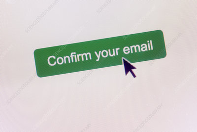 Email confirmation click button