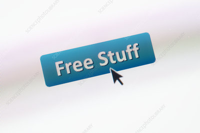Free offers, conceptual image