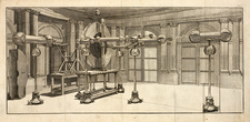 Electrostatic generator, 18th century