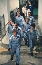 Space Shuttle Challenger crew, STS-41-G, 1984