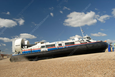 Isle of Wight hovercraft, UK