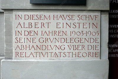 Einstein House, Switzerland