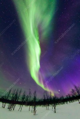 Northern Lights, Lapland, Sweden