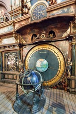 Strasbourg astronomical clock, France
