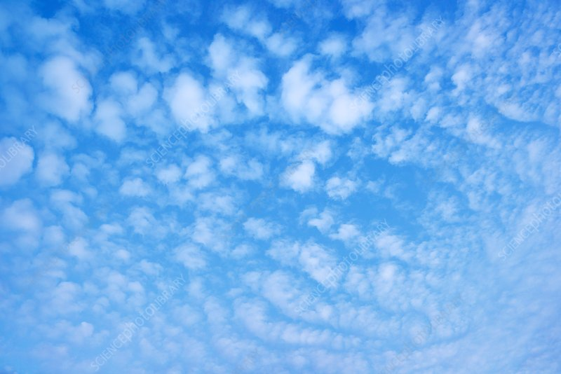 Mackerel clouds