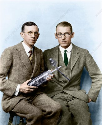 Davisson and Germer, US physicists