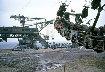 Bucket wheel excavators