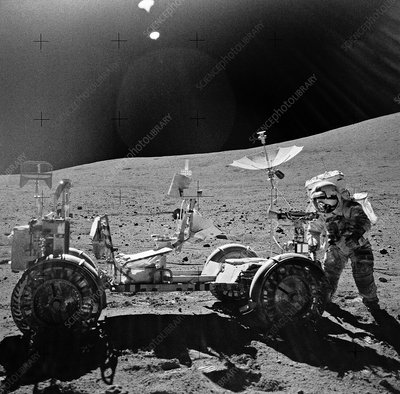 Apollo 16 exploration of the Moon, 1972