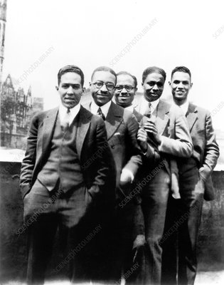 Harlem Renaissance intellectuals, 1924