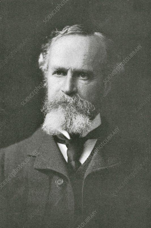 William James, US psychologist