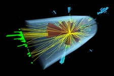 Micro black hole experiment in CERN's CMS detector