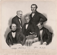 Celebrated English chemists, 1850