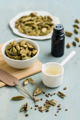 Essential oil of Green cardamom