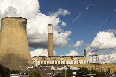 Ratcliffe on Soar coal fired power station Nottinghamshire