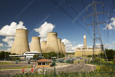 Ratcliffe on Soar coal fired power station, UK