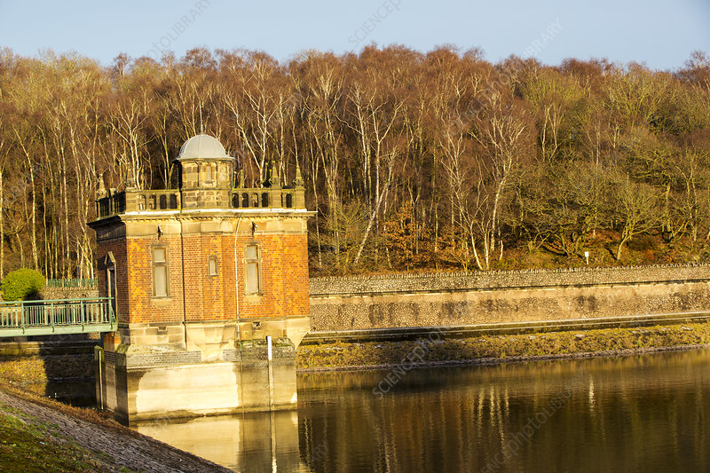 Swithland Reservoir in Leicestershire, UK