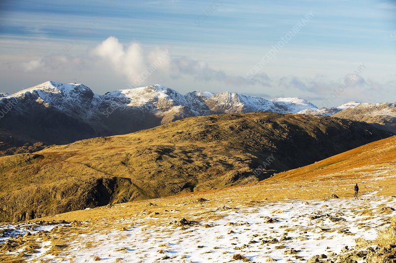 Coniston Old Man in the Lake District, UK