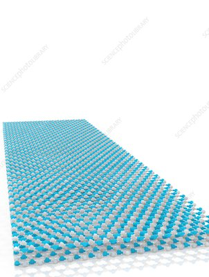 Boron nitride sheet, illustration