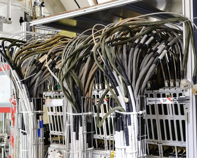 Large Hadron Collider cables