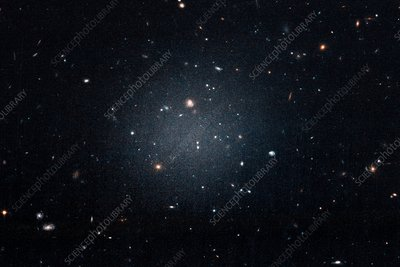Galaxy NGC 1052-DF2, Hubble Space Telescope image