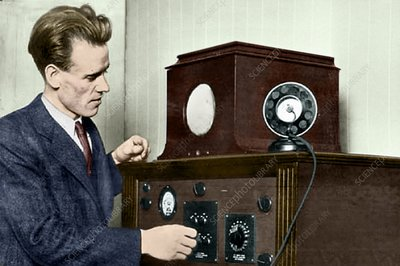 Philo T Farnsworth, US TV pioneer