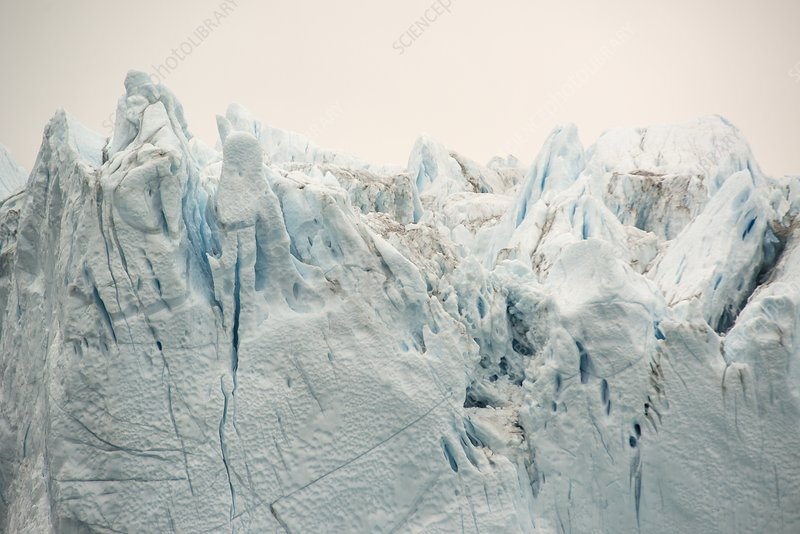 Close up of iceberg, Scoresby Sund fjord, Greenland