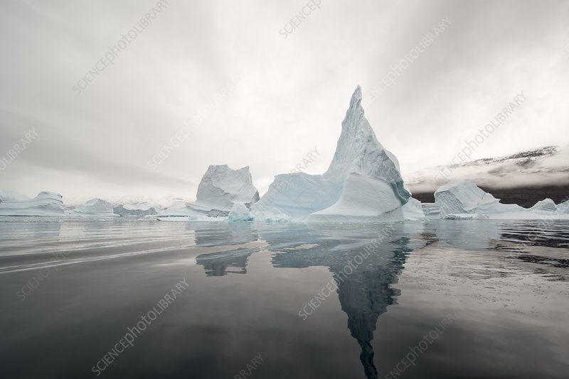 Icebergs, Rode Fjord, Greenland