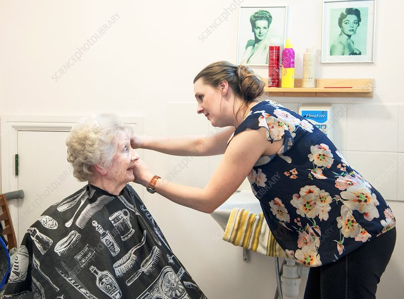Care home hairdressing