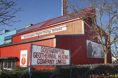 Southampton geothermal heating station