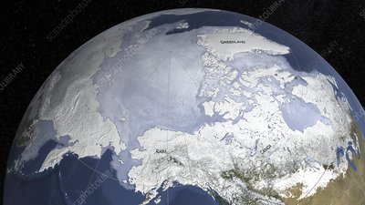 Arctic sea ice maximum, March 2018
