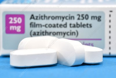 Azithromycin antibiotic drug