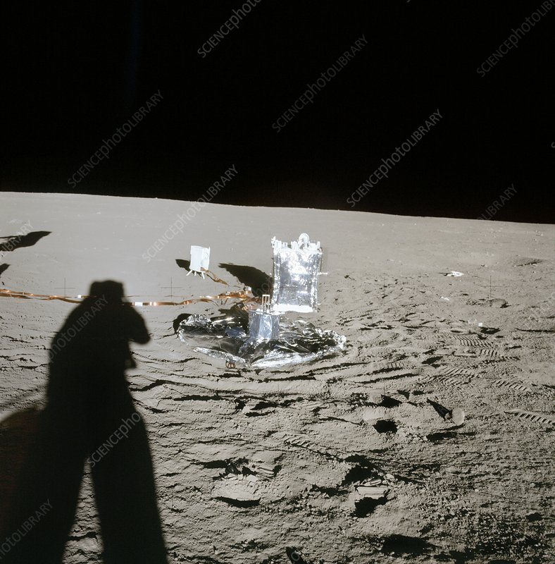Apollo 12 lunar experiments, 1969