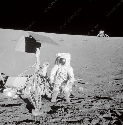 Apollo 12 visit to Surveyor 3 spacecraft, 1969