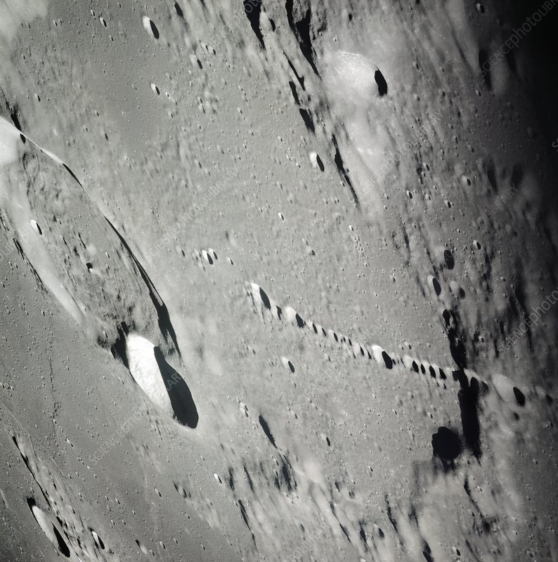 Landing site surveyed during Apollo 12, 1969